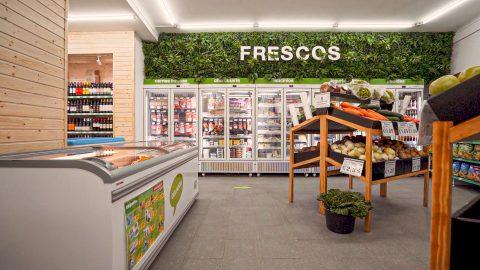 arcas congeladoras,expositores de frutas,morais refrigerados,montagem de supermercados,equipamentos para supermercados,produtos para supermercados,frio industrial