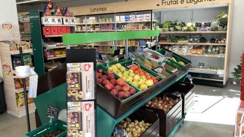 Meu Super - Pego (Abrantes) - Expositores de Frutas e Legumes
