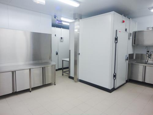 Cozinha industrial montada