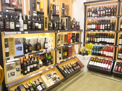 Exposição de vinhos